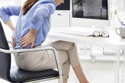 Derékfájdalom lépések